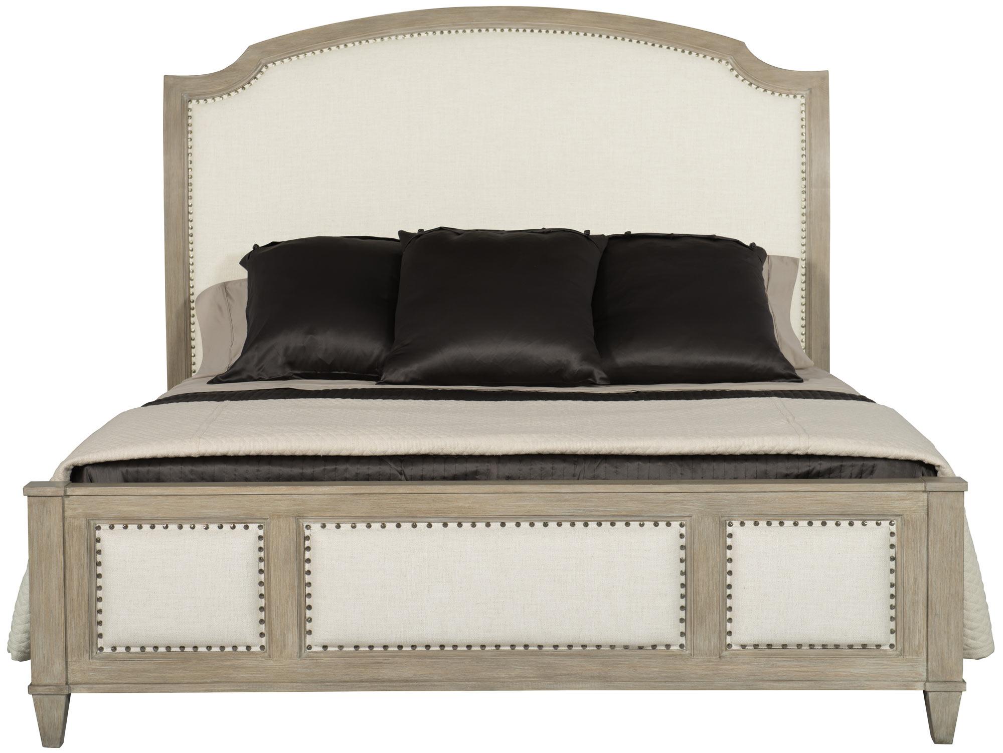 Upholstered Sleigh Bed Bernhardt Hospitality
